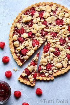 Raspberry Amaretto Cookie Bars