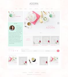 This is a collection of the best WooCommerce ecommerce WordPress themes to build an online store. Combined with powerful ecommerce plugins such as WooCommerce, WordPress can be used to build profes… Ecommerce Web Design, Wordpress Theme Design, Best Wordpress Themes, Blog Layout, Website Layout, Website Themes, Wedding Templates, Wordpress Template, Branding Design