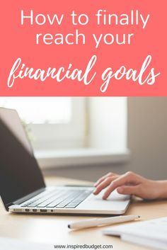 Because it's time to put into action all those things you know you should be doing. Follow a step by step guide to reach your money goals!
