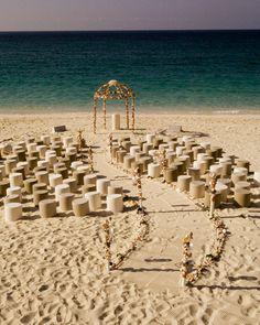 beach wedding MOST UNIQUE OC BRIDE MAG