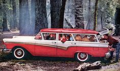 Plan59 :: Woodies :: 1950s Station Wagons :: 1957 Ford Country Sedan