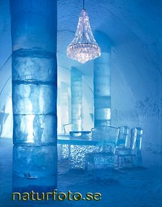 "✶Ice Hotel In SWEDEN. Bosses at a Swedish hotel made out of ice and snow say they are ""a little surprised"" - after being ordered to install fire alarms✶ Snow And Ice, Fire And Ice, Ice Hotel Sweden, Ice Hotel Iceland, Lapland Finland, Ice Bars, Snow Sculptures, Ice Castles, Lappland"
