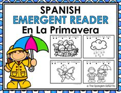 "Spanish Emergent Readers - ""En La Primavera"" (In The Spring)  This set of Emergent Reader Pattern Books were created to build confidence in our emerging readers, while teaching sight words as well as one-to-one word correspondence and vocabulary. There are THREE slightly different readers included in this set to help differentiate instruction for various leveled readers.  Keywords: March, Marzo, Spring, La Primavera, Spanish Emergent, Guided Reading Books, Spanish Books, Libros de la Lectura"