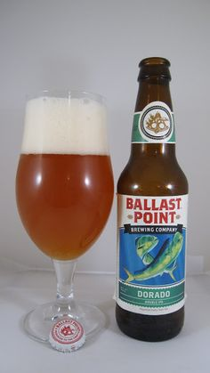 Ballast Point Dorado (Imperial IPA) This is full-bodied beer in all aspects. There's a constant combination of rich malty sweetness and dank hop flavor and bitterness. The malt base is reminiscent of a very strong amber ale but without any toasted malt character or perhaps a really strong English ale as there's a slight orange marmalade component. These hops are more for flavor and aroma, though there is a strong bitter sensation right on the finish.