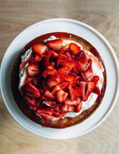 melissa's strawberry yogurt shortcake