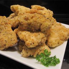 The Best Ever Chicken Nuggets Turkey Recipes, Meat Recipes, Dinner Recipes, Cooking Recipes, Recipies, Dinner Ideas, Fried Chicken Recipes, Chicken Meals, Healthy Chicken