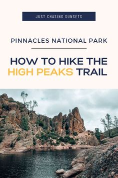 Have you heard of Pinnacles National Park in California? Do you want to check off the best hikes in Pinnacles National Park? Read this post for all of the details about Pinnacles National Park hiking! Learn the best hikes, their length, and what to bring! Pinnacles National Park should definitely be on your National Park bucket list! California National Parks, Central California, California Condor, Best Hikes, The Visitors, Solo Travel, Hiking Trails, Day Trip, Around The Worlds