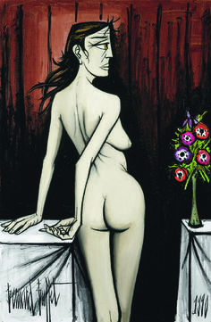 'Nu de Dos',' Nude seen from the back' - Bernard Buffet