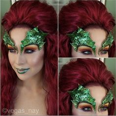 poison ivy maquillaje