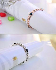 Austrian Crystal Olive Leaf #Fashion Beaded Alloy #Bracelet.  #Gift #Fashion #Jewelry #Style