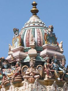Bangalore Temple, India   - Explore the World with Travel Nerd Nici, one Country at a Time. http://TravelNerdNici.com