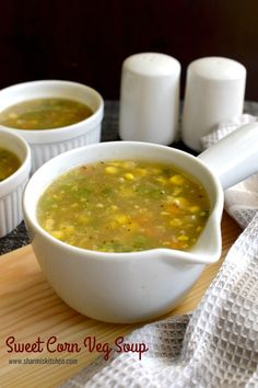 Sweet Corn Veg Soup Recipe - Powered by @ultimaterecipe
