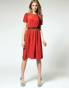 Stylish summer modest and classic dress for ladies