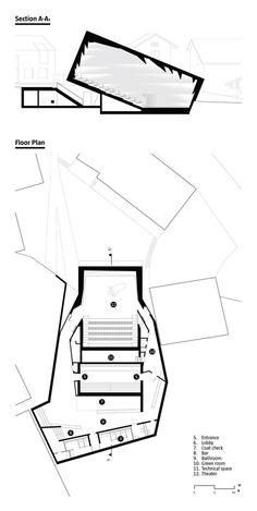 Konzerthaus Blaibach, Designed by Peter Haimerl Architecktur | Architect Magazine | Cultural Projects, Concrete Construction, Interiors, Entertainment Projects, Ceilings, Properties of Fresh Concrete