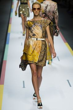 1fd306953d2e Fendi SPRING SUMMER 2013 READY-TO-WEAR Couture Fashion, Runway Fashion,