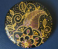 Painted Plates, Pointillism, Pebble Art, Decorative Plates, Dots, Tableware, Wall, Painting, Home Decor