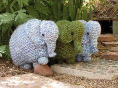 Amigurumi Elephant Pillow