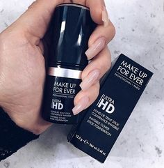 Makeup Forever Ultra HD Foundation Stick - Makeup Looks 💄 Makeup Forever Foundation Stick, No Foundation Makeup, Mac Makeup, Kiss Makeup, Makeup Goals, Makeup Tips, Makeup Products, All Things Beauty, Beauty Make Up