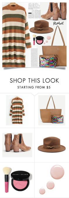 """""""What to wear?"""" by samra-bv on Polyvore featuring Oris, Bobbi Brown Cosmetics and Topshop"""