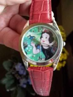 Snow White Collector's Watch - Avon/ Disney - BNIB - FREE Ship!  Red Leather Band.  Japan Quartz movement.  Stainless steel bezel.  Leather strap.  Brand New In Box  Now only $19.99 + FREE Shipping!  Yardsellr gives you $5 photons to spend on your FIRST ...