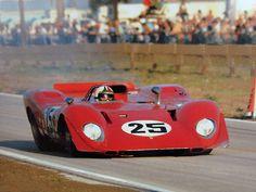 Andretti - Amon Ferrari 312P à Sebring 1969