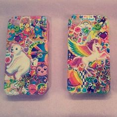 How awesome is this...Lisa Frank iPhone4 case - 90's vintage style