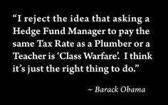 Obama quote on taxes
