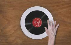 Wireless Vinyl Player by Kőrös Benedek