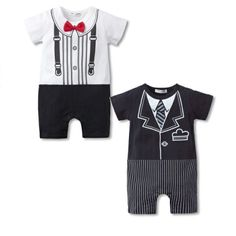Cheap boy romper, Buy Quality baby boy romper directly from China boys jumpsuit Suppliers: Summer Print Baby Boy Rompers with tie One-piece Gentleman Style Baby Romper Infant Boys Jumpsuit Cotton Baby Clothing Toddler Jumpsuit, Baby Jumpsuit, Baby Boy Romper, Cotton Jumpsuit, Baby Bodysuit, Boys Summer Outfits, Toddler Boy Outfits, Summer Clothes, Baby Costumes For Boys