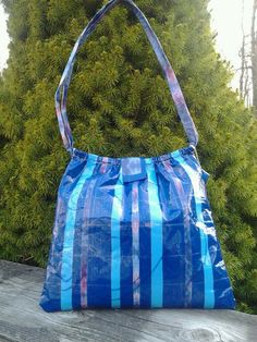 I Got the Blues purse  OOAK  duct tape purse by theducktapediva, $20.00