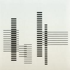 #NosGusta #NosInspira RHYTHM by Josef Albers 1958 / www.bauhaus-movement.com