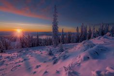 cold sunset by Jørn Allan Pedersen on 500px  )