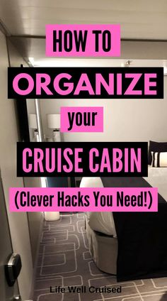 I love cruising, but cruise cabins are not at all like hotel rooms. The stateroom space can be small and compact, without a lot of storage space. These organization tips and cruise cabin hacks… Honeymoon Cruise, Bahamas Cruise, Cruise Travel, Cruise Vacation, Shopping Travel, Disney Cruise, Prague Shopping, Greek Cruise, Cruises