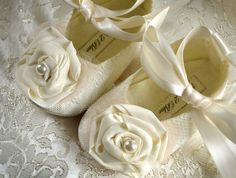 Victoria Baby Girl Shoes Wedding Flower Girl by pink2blue on Etsy, $32.00