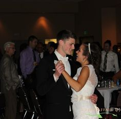 First dance at St. Pius Parish Center, Cedar Rapids, IA