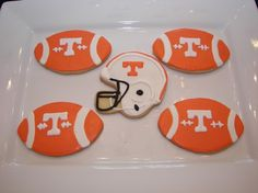 Tennessee Football Cookies (for TAMMY)