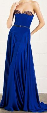 DarkBlue Long Dress