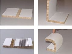 Recycled, Rigid Board Material for Furniture, Product Design and Architecture: X-Board : TreeHugger