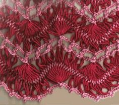 *El rincón de las Manualidades de Siry*: Chales con hairpin lace