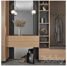 Wardrobe Door Designs, Wardrobe Design Bedroom, Bedroom Furniture Design, Modern Hallway Furniture, Home Room Design, Home Interior Design, Living Room Designs, House Design, Home Entrance Decor