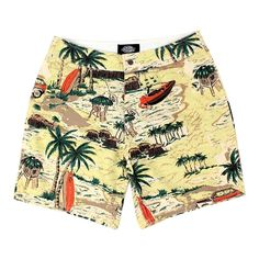 DICKIES PALM VALLEY SHORT YELLOW