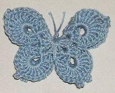 Free Crochet Patterns: Free Crochet Butterfly Patterns: