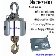 Cân treo wireless OCS-XS 30 tấn, 40 tấn, 50 tấn - Cân treo không dây Sifang