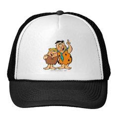 Barney Rubble and Fred Flintstone. Producto disponible en tienda Zazzle. Accesorios, moda. Product available in Zazzle store. Fashion Accessories. Regalos, Gifts. #gorra #hat