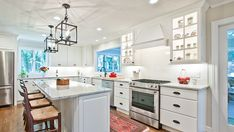 Shine a light on the important details that make your house a home. White Kitchen Cabinets, Kitchen Cabinet Design, Kitchen And Bath, Plumbing Accessories, Kitchen Design Gallery, Custom Kitchens, Commercial Lighting, Pool Table, Beautiful Space