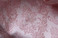 Set of Vintage Pink Damask Curtains   72 x 84 by DirtAndRoot, $26.00