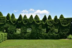Located in Monkton, Ladew Topiary Gardens is a well-manicured paradise of greenery.