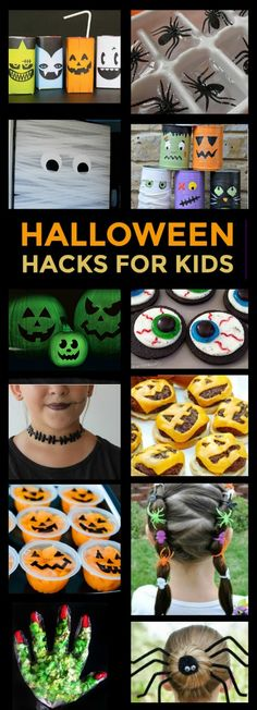 50 GENIUS HALLOWEEN HACKS FOR KIDS - Wow! These are great! Pin!