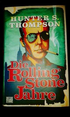 Hunter S. Hunter S, Rolling Stones, Video Game, Reading, Books, Artwork, Livros, Work Of Art, Libros