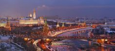 The Kremlin (Moscow, Russia) #Kremlin #Moscow #Russia #Worldplaces